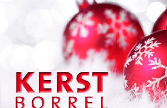 Kerstborrel vrijdag 14 december